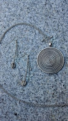 Black Hole Spiral Set