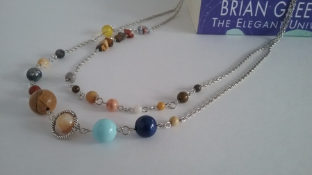 Solar System Necklace - Silver