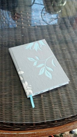 floral journal lined 2